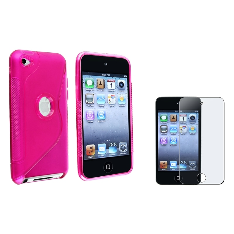 Case/ Anti-glare Screen Protector for Apple iPod Touch Generation 3