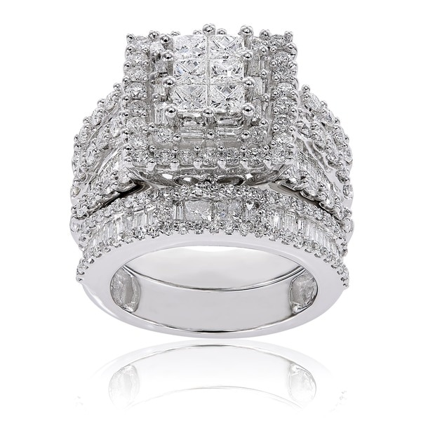 Size-3 1//8 cttw, G-H,I2-I3 Diamond Wedding Band in 10K Yellow Gold