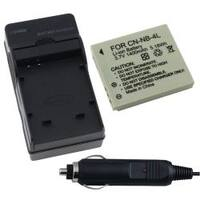 INSTEN Battery/ Charger for Canon PowerShot SD1100/ IS SD1000/ SD200/ SD300