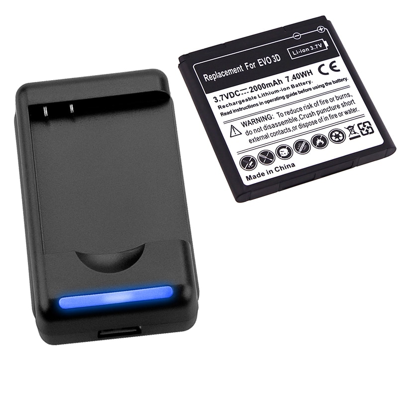 INSTEN Battery/ Desktop Battery Charger for HTC EVO 3D