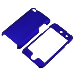 Rubber Coated Case Set/ Protector for Apple iPod Touch Generation 4