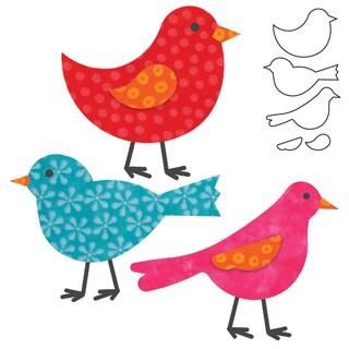 Go! Fabric Cutting Dies It Fits!-Birds