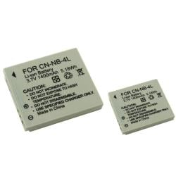 INSTEN Battery for Canon NB-4L/ Powershot Camera (Pack of 2)