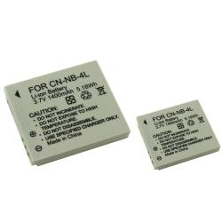 INSTEN Battery for Canon NB-4L/ Powershot Camera (Pack of 2) - Thumbnail 0