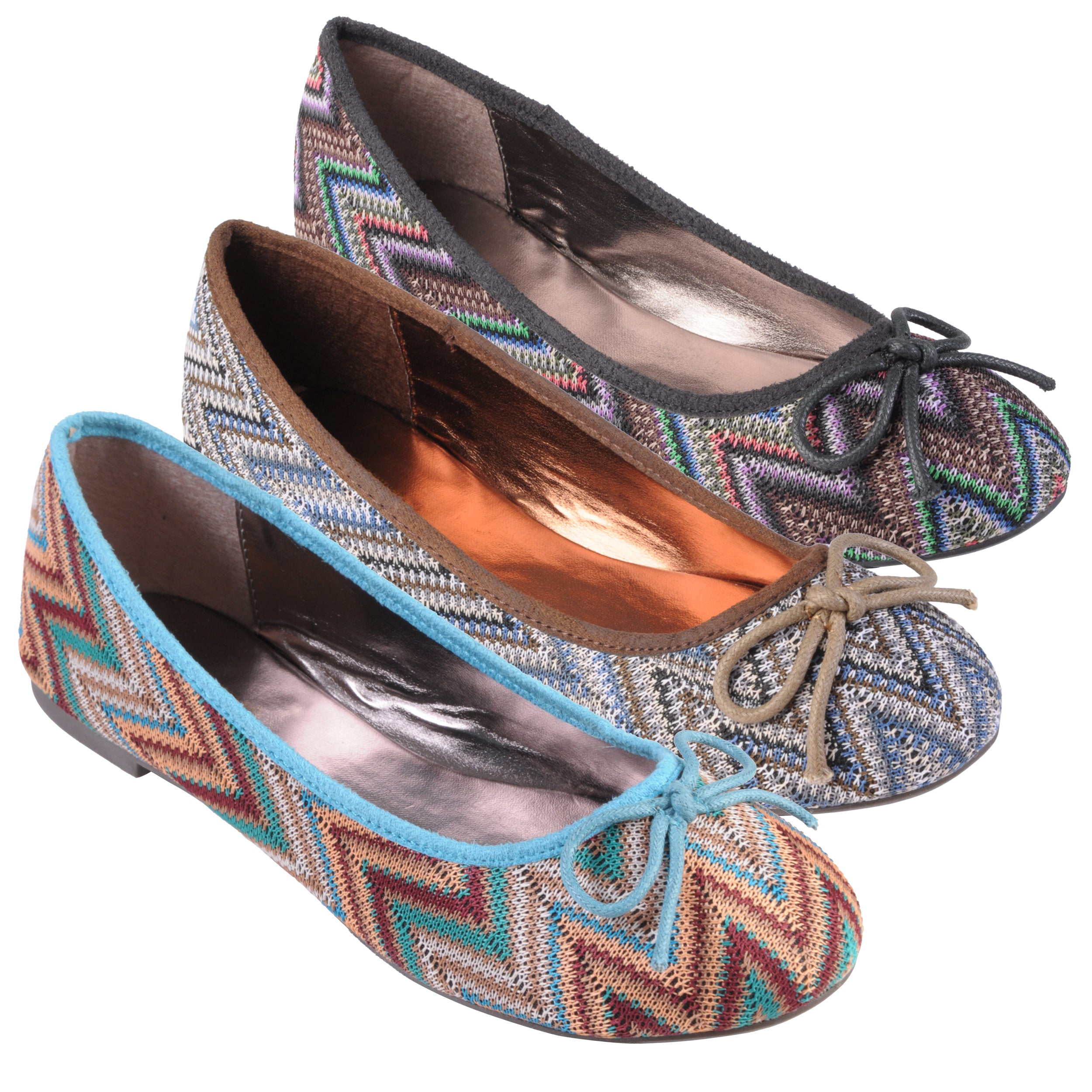 Journee Collection Women's 'Shell' Bow Detail Round Toe Ballet Flats