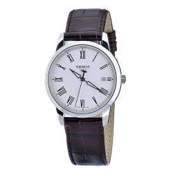Tissot Men's T0334101601301 Classic Dream White Dial Watch