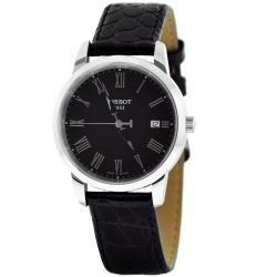 Tissot Men's T0334101605301 Classic Dream Black Dial Watch