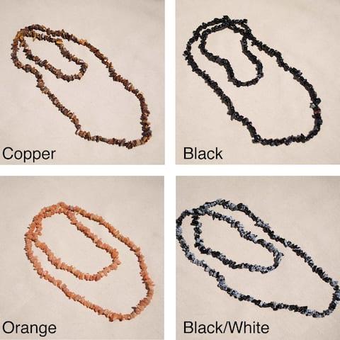 Handmade Tribal Quartz Necklace (Afghanistan)