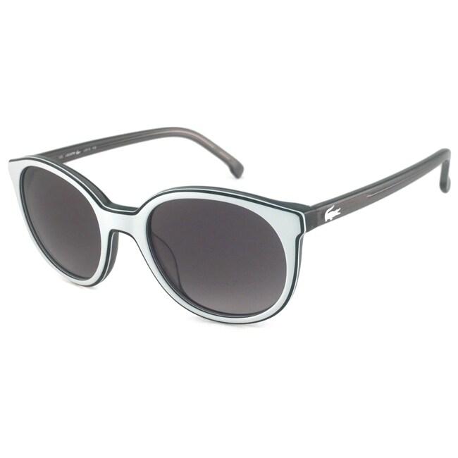 Lacoste Women's L601S Round Plastic Sunglasses