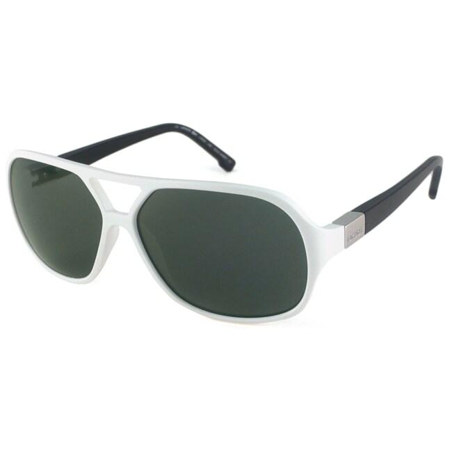 Lacoste Men's L502S Italian Aviator Sunglasses