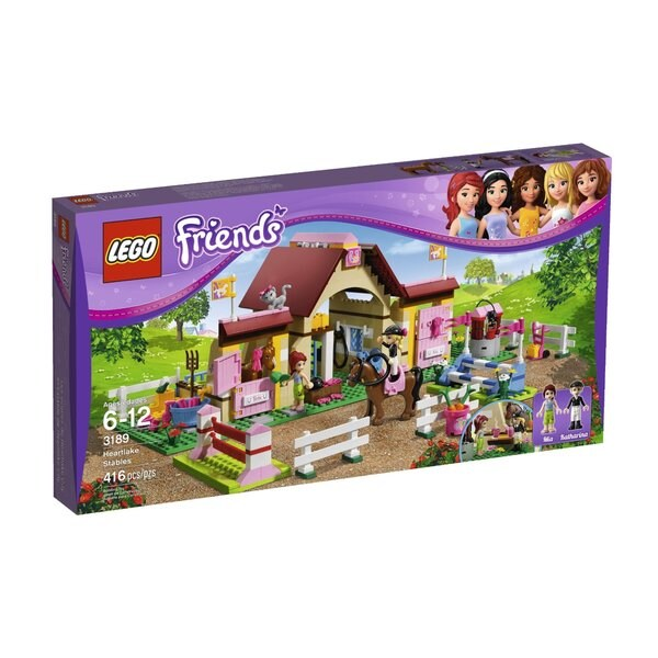 LEGO 'Friends' Heartlake Stables Set