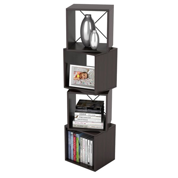 Atlantic Rotating Storage Espresso Display Cube