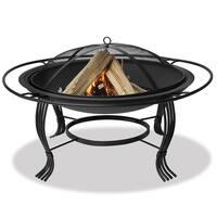 Black Outdoor Firebowl