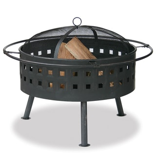 Bronze-Finished 32-Inch Outdoor Firebowl