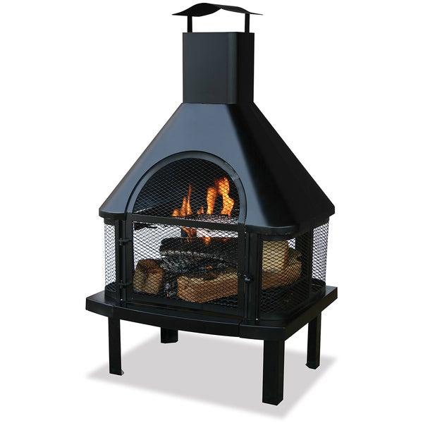 Blue Rhino 360-degree Black Firehouse
