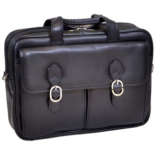 Mcklein 'Hyde Park' Double Compartment Laptop Briefcase|https://ak1.ostkcdn.com/images/products/7011547/P14518555.jpg?_ostk_perf_=percv&impolicy=medium