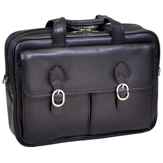 Mcklein 'Hyde Park' Double Compartment Laptop Briefcase|https://ak1.ostkcdn.com/images/products/7011547/P14518555.jpg?impolicy=medium