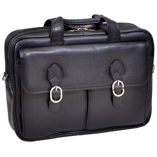 Mcklein 'Hyde Park' Double Compartment Laptop Briefcase