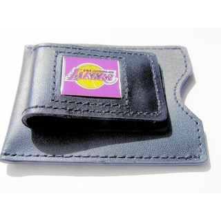 NBA Leather Money Clip/ Card Holder