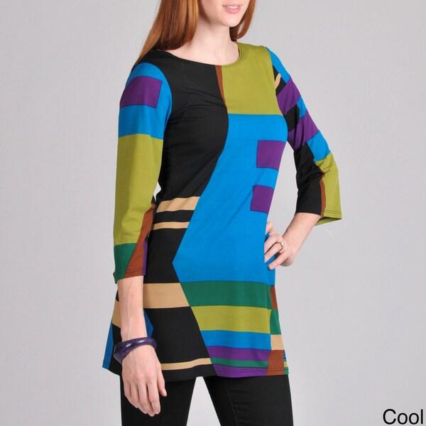 Sunny Leigh Women's Color-block Top