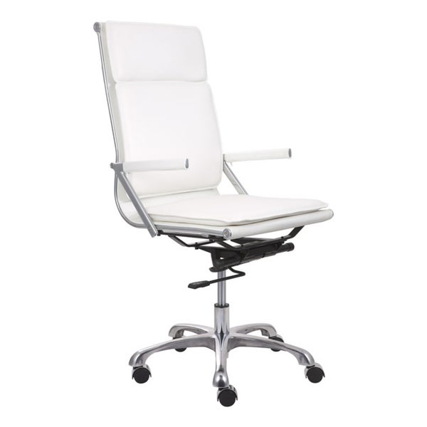 Lider Plus High Back White Office Chair