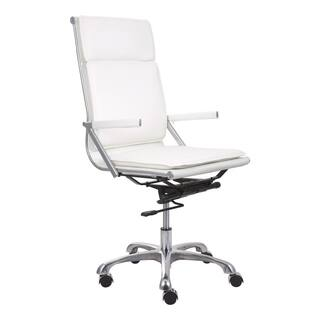 Lider Plus High Back White Office Chair|https://ak1.ostkcdn.com/images/products/7011579/P14518642.jpg?impolicy=medium