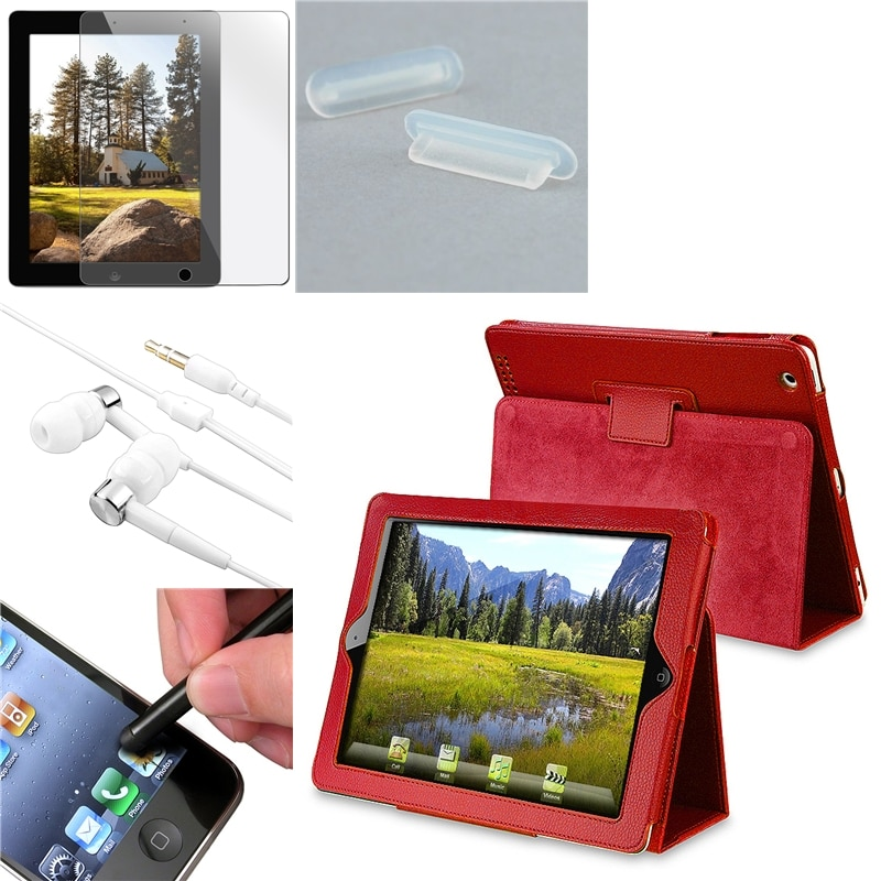 Case/ Protector/ Headset/  Dock Plug/ Stylus for Apple iPad 2/ 3