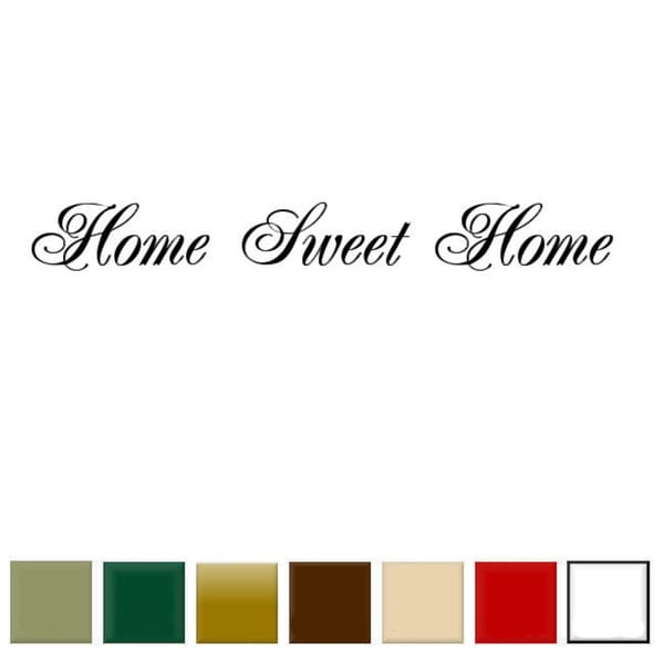Home Sweet Home Wall Art home sweet home' vinyl wall art decal - free shipping on orders