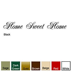 'Home Sweet Home' Vinyl Wall Art Decal
