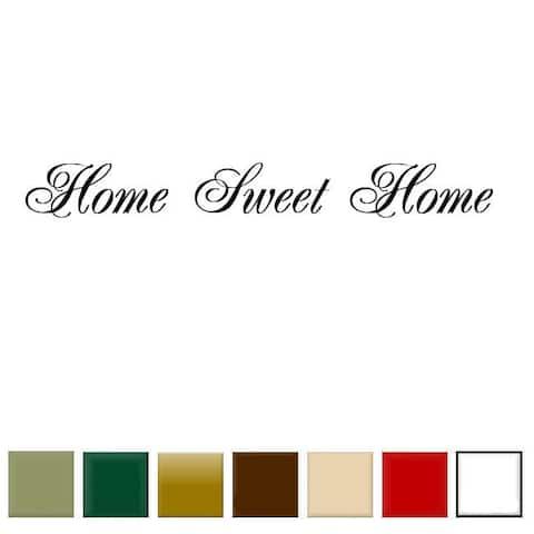 Home Sweet Home' Vinyl Wall Art Decal