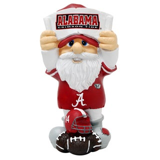 Forever Collectibles Alabama Crimson Tide Second String Thematic Gnome (Option: Alabama Crimson Tide)
