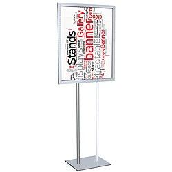 Testrite Silver Poster Signholder (22 x 28)