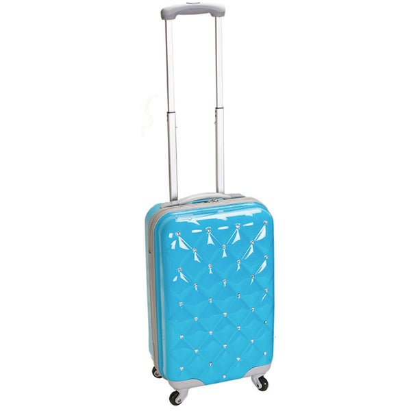 Rockland Diamond 20-inch Lightweight Hardside Spinner Carry-on Luggage