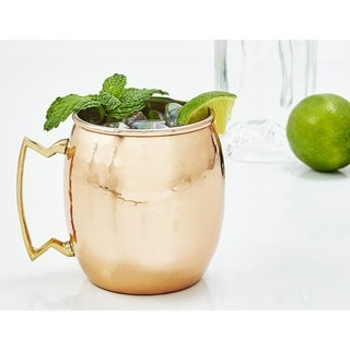 Old Dutch Hammered Copper 16-oz. Moscow Mule Mugs - Set of 4