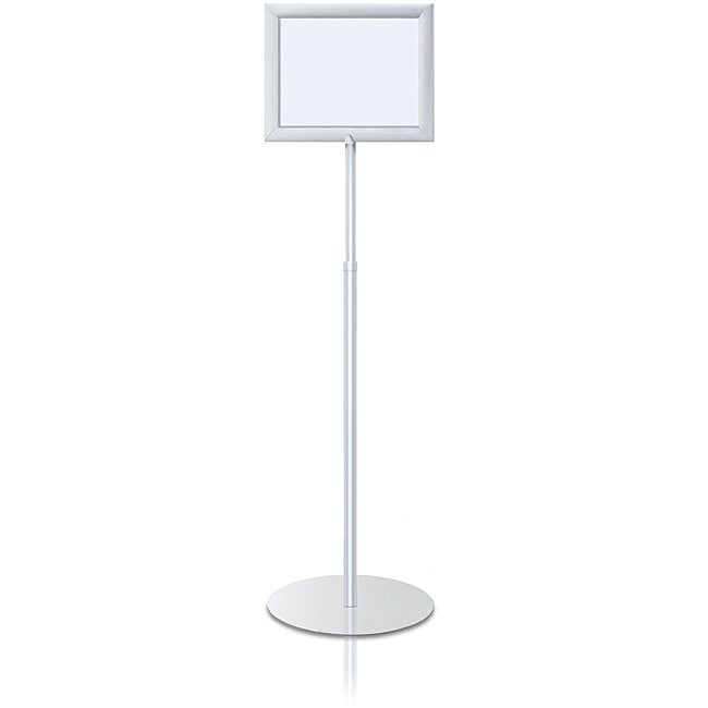 Shop Testrite Perfex Telescopic 8.5 x 11 Silver Pedestal Frame ...