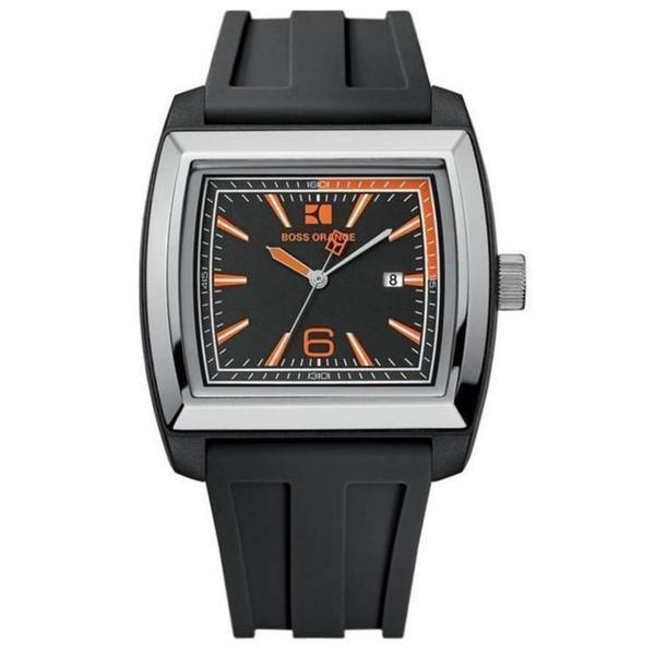 Hugo Boss Men's Black Resin Watch