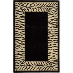 Nourison Hand-tufted Dimensions Black Rug (5' x 8')