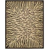 Nourison Hand-tufted Dimensions Ivpry Rug (7'6 x 9'6) - 7'6 x 9'6