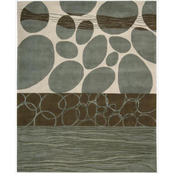 Nourison Hand-tufted Dimensions Multicolor Rug - 7'6 x 9'6