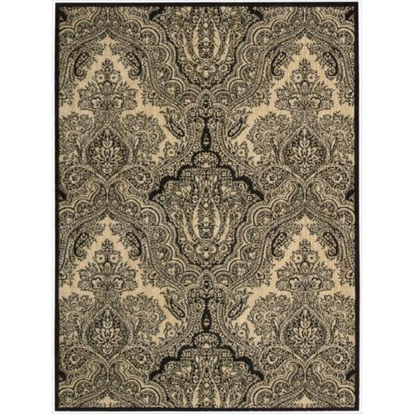 Joseph Abboud Majestic Black Area Rug by Nourison (9'6 x 13')