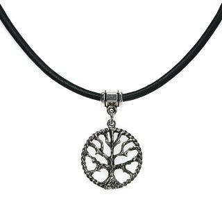 Jewelry by Dawn Tree Of Life Greek Leather Necklace|https://ak1.ostkcdn.com/images/products/7018594/Jewelry-by-Dawn-Tree-Of-Life-Greek-Leather-Necklace-P14524822A.jpg?impolicy=medium