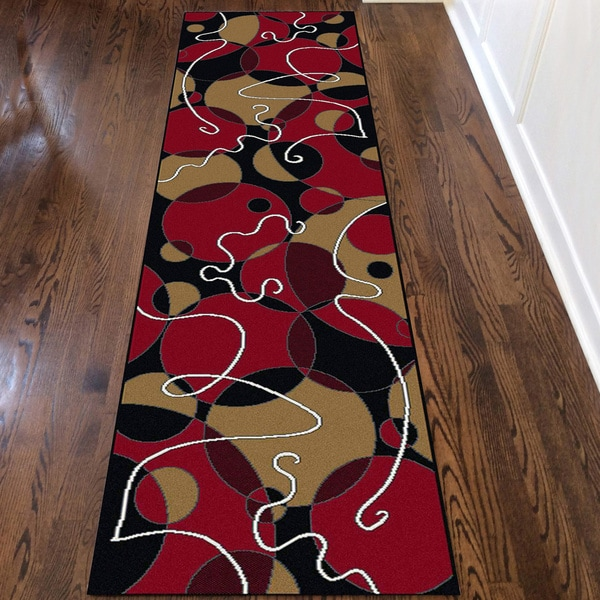Admire Home Living Amalfi Illusion Area Rug Runner (2'2 x 7'7)