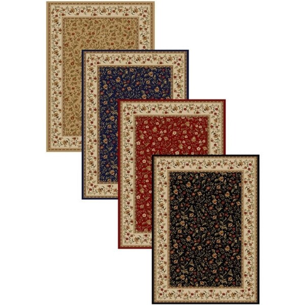 Admire Home Living Amalfi Floral Area Rug (2'6 x 4'2) - 3'3 x 4'11