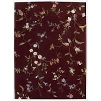 Nourison Hand-tufted Julian Ruby Rug - 7'6 x 9'6