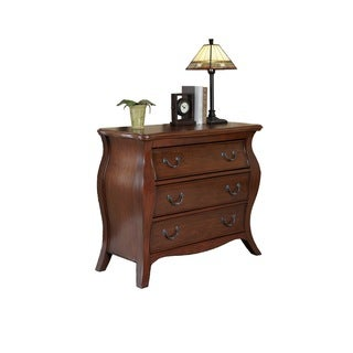 The Regency Cherry Bombe Chest by Home Styles