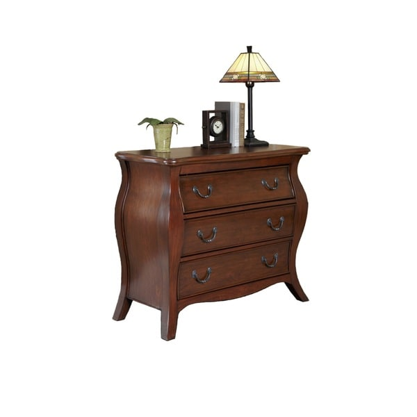 Home Styles The Regency Cherry Bombe Chest