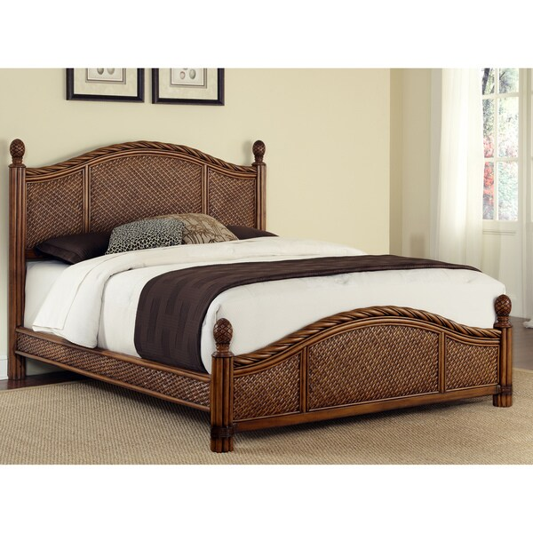 Marco Island Refined Cinnamon Queen-size Bed by Home Styles