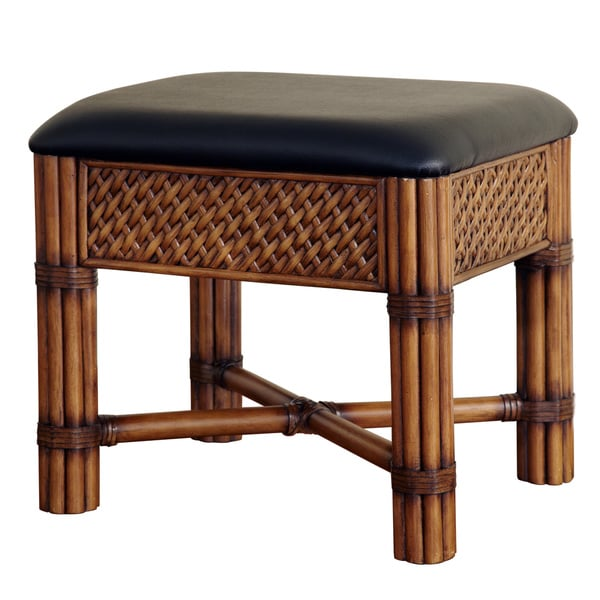 Marco Island Refined Cinnamon Vanity Bench by Home Styles