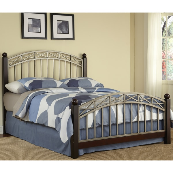 Bordeaux Queen-size Bed by Home Styles