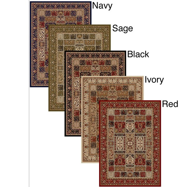 Admire Home Living Amalfi Panel Area Rug (3'3 x 4'11)